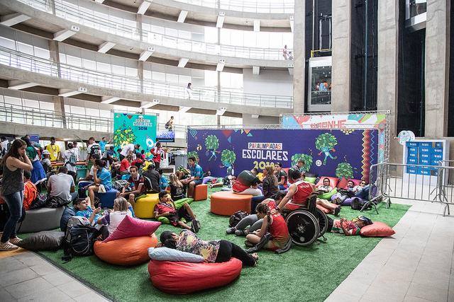 CPB aplica testes de atletas de ponta em jovens das Paralimpíadas Escolares 2018