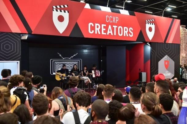 CCXP anuncia programação do Creators Stage