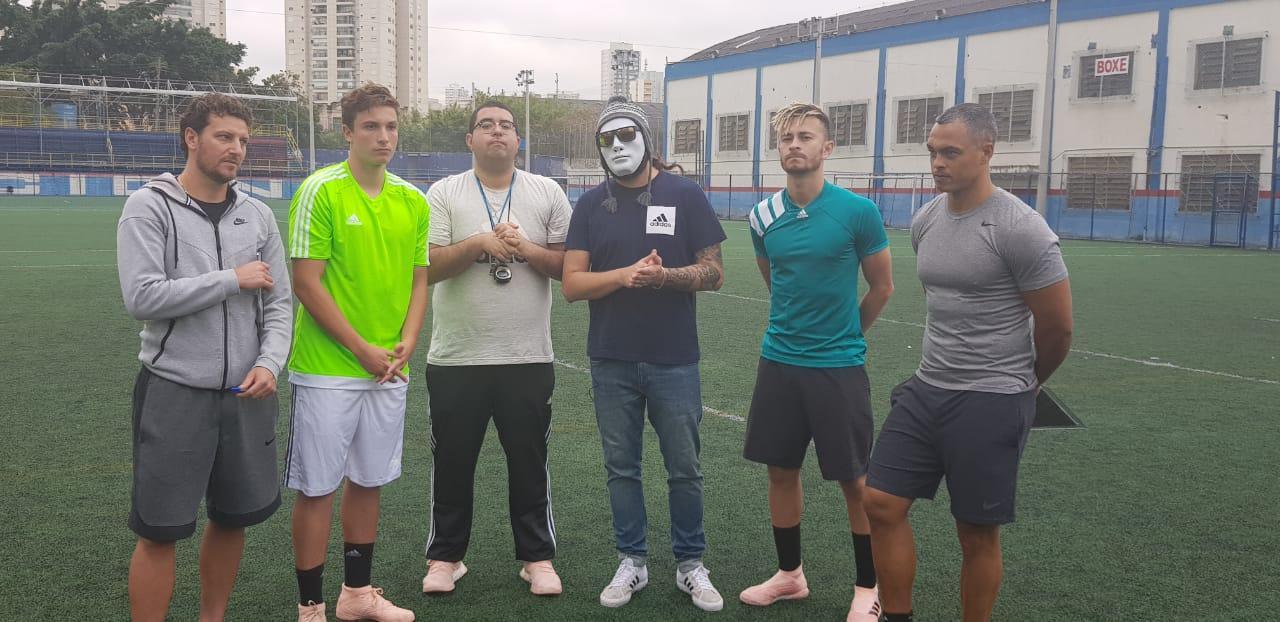 Desimpedidos promove jogo no Pacaembu que será transmitido ao vivo pelo Youtube