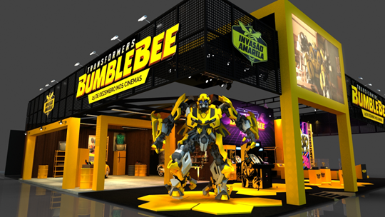 Hasbro na CCXP | Bumblebee
