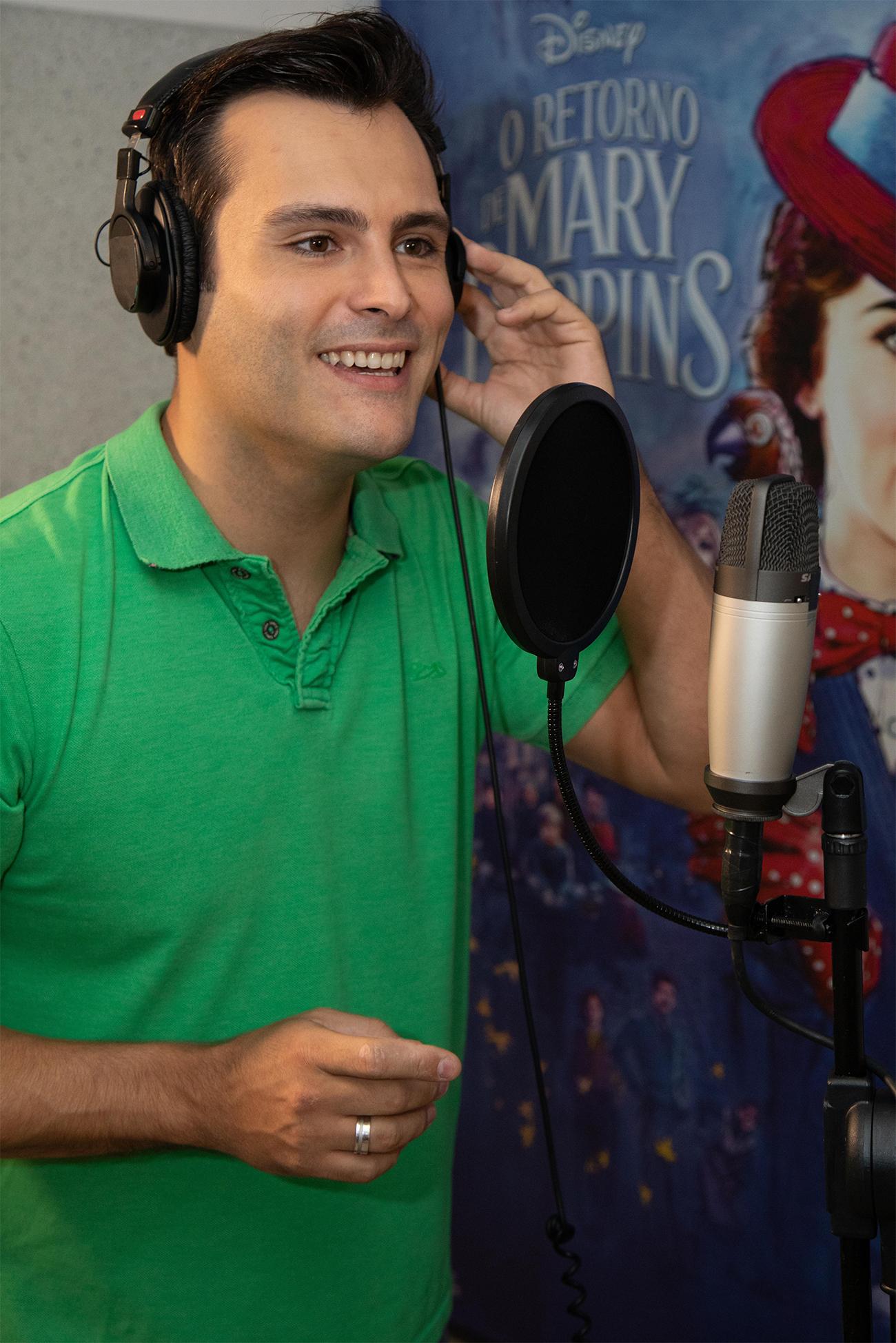 """Leandro Luna é uma das estrelas de """"Mary Poppins"""", da Disney"""