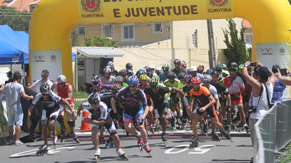 Curitiba sedia Meia Maratona Internacional de Patinação de Velocidade