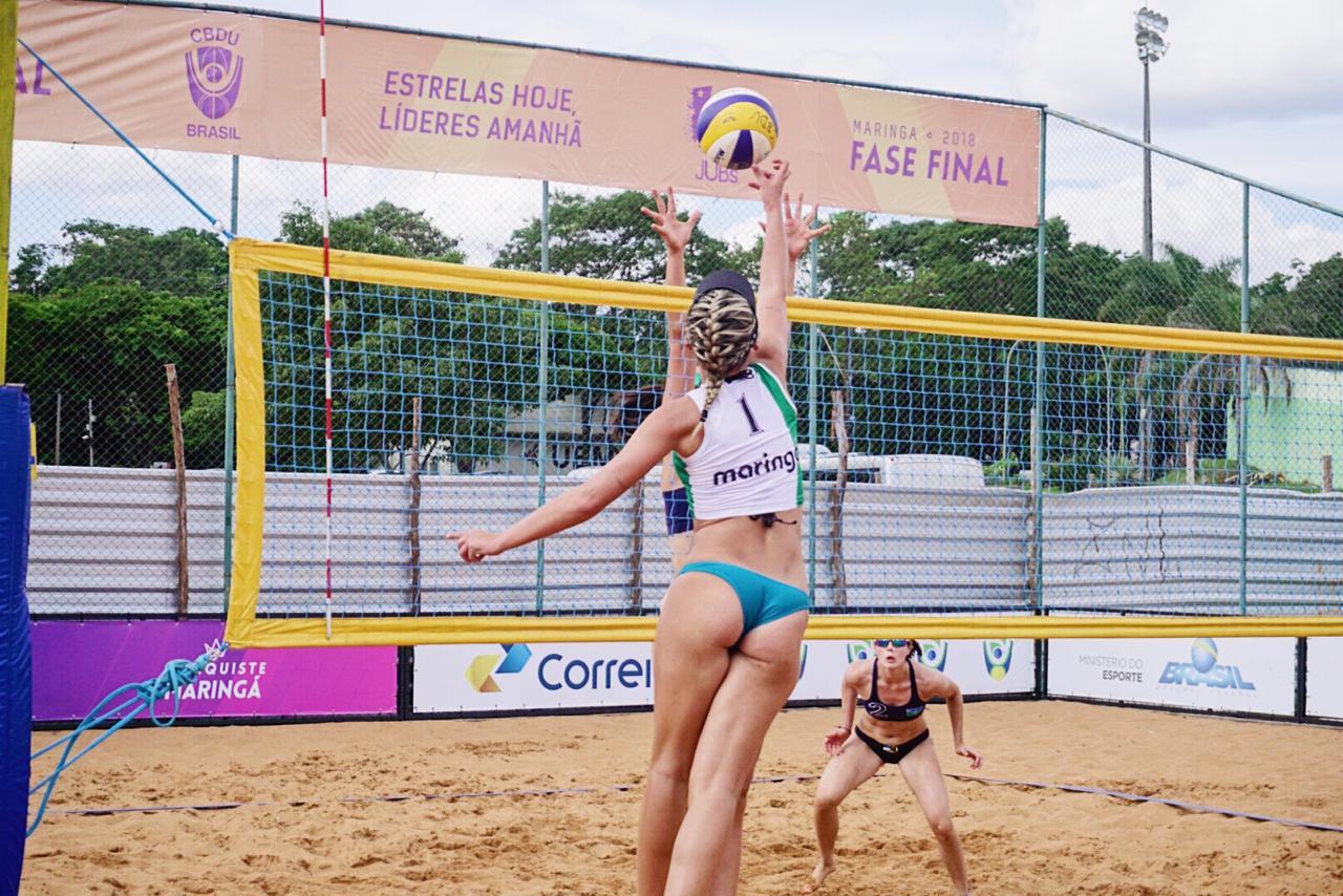 JUBs Jogos de Praia abre calendário nacional do esporte universitário nesta quarta