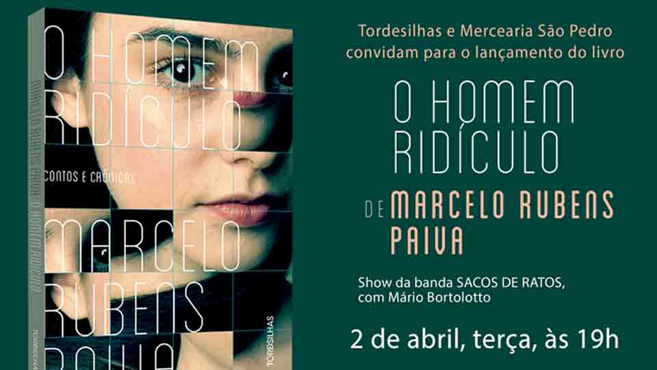 Marcelo Rubens Paiva promove noite de autógrafos de seu novo livro