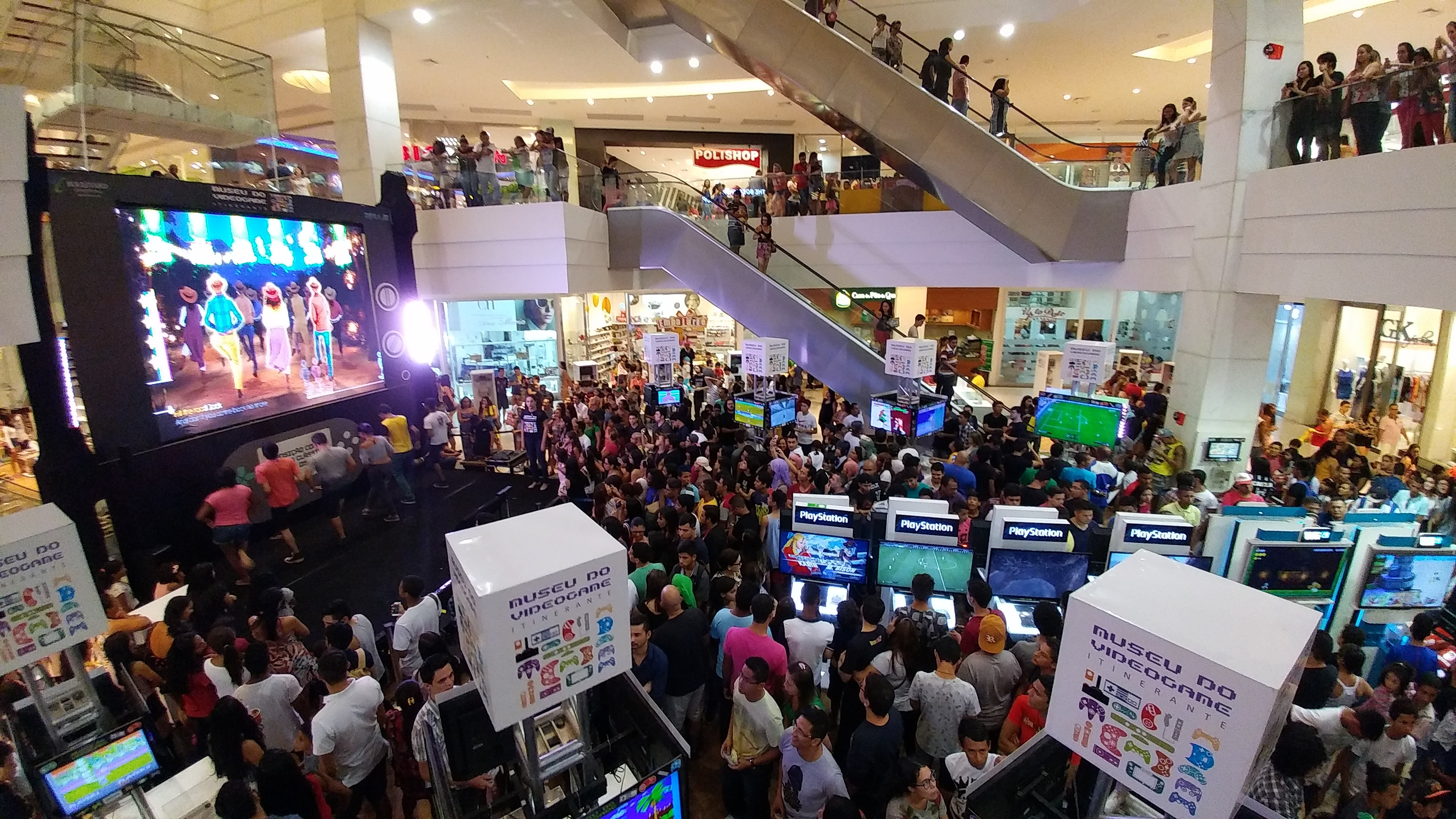Museu Itinerante do Videogame desembarca no Shopping ABC