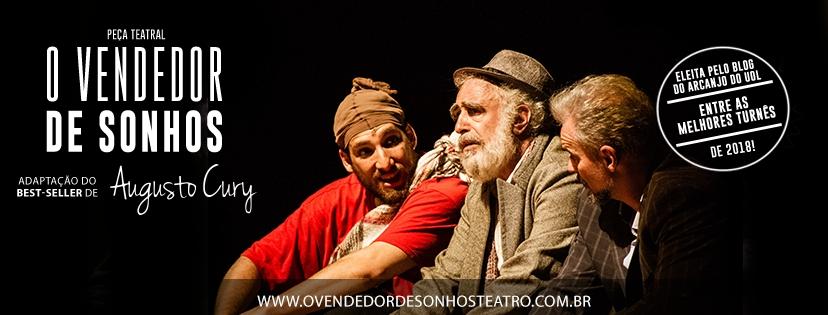 O Vendedor de Sonhos estreia curta temporada no Teatro Sérgio Cardoso
