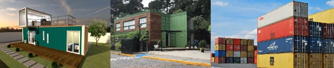 CIDADE CONSTRUÍDA COM CONTAINERS OCUPA O EXPO CENTER NORTE A PARTIR DESTA QUARTA-FEIRA