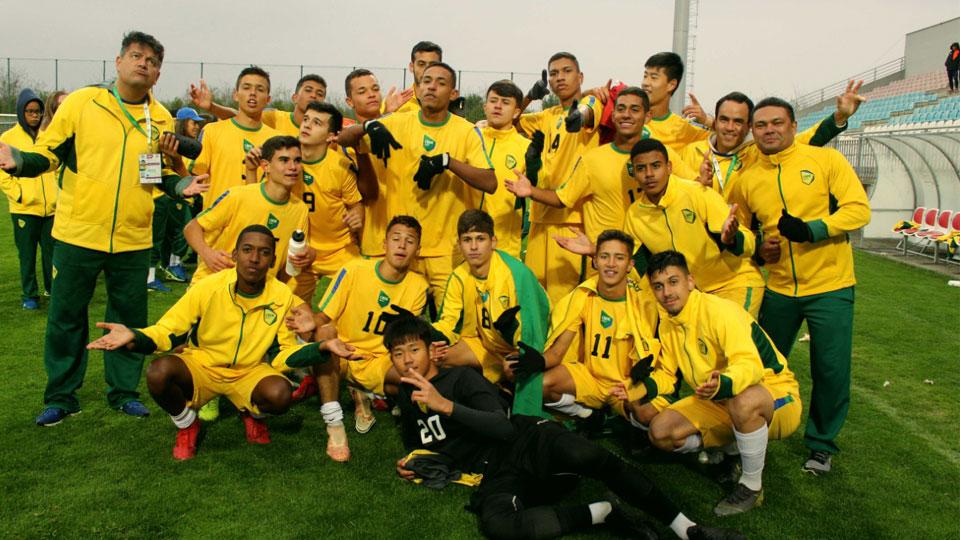Colégio Amorim de São Paulo representa Brasil no mundial estudantil de futebol na Sérvia e conquista Titulo inédito para o nosso país