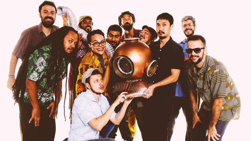 Skafandros Orkestra faz turnê pelo interior de São Paulo