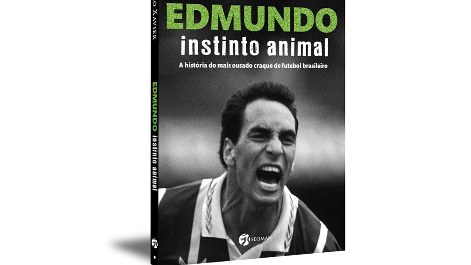 Biografia do ex-jogador Edmundo será lançada Domingo em São Paulo