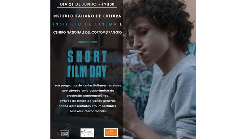 Instituto de Cinema recebe Festival Short Film Day