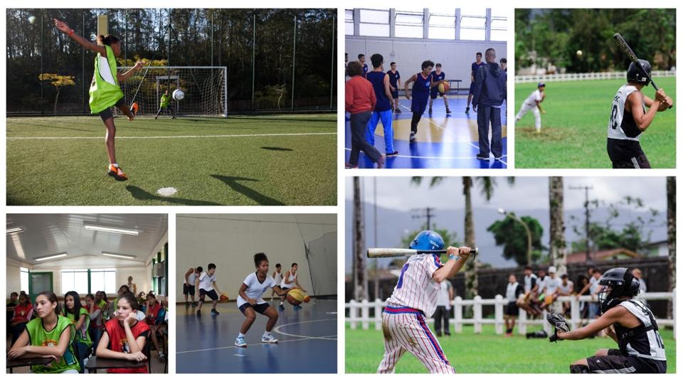 Estrelas no Esporte: práticas esportivas, inglês e desenvolvimento humano grátis para jovens