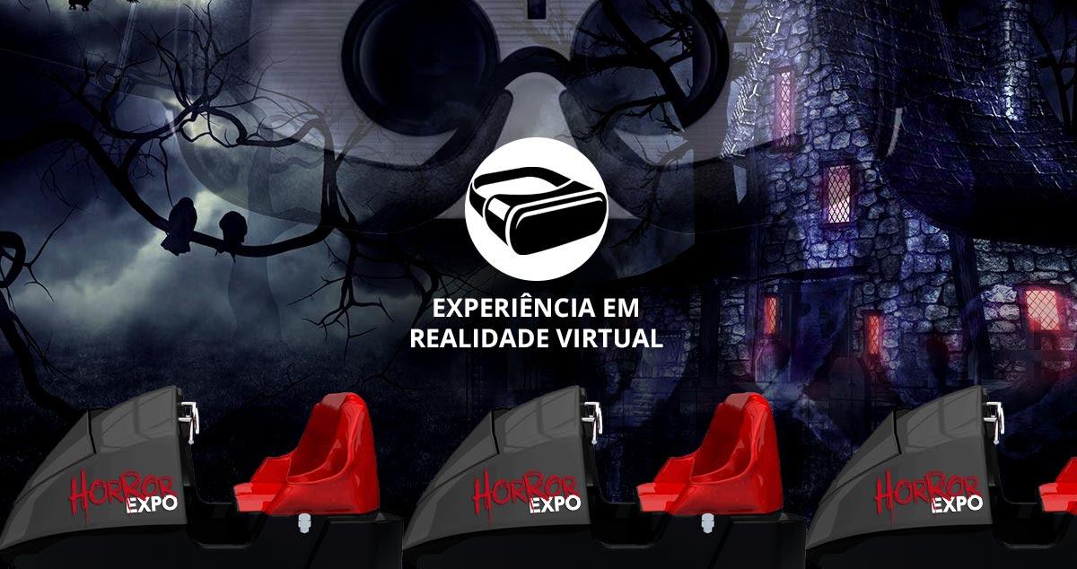 Horror Expo 2019 – Trem Fantasma em Realidade Virtual é Experiência Confirmada