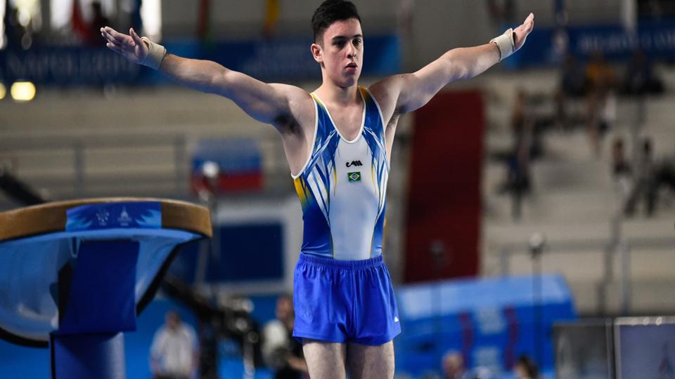 Universíade de Napoli: Brasil conquista medalha de bronze na ginástica artística