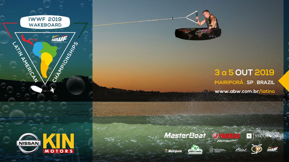 Mairiporã recebe Campeonato Latino Americano de Wakeboard em outubro