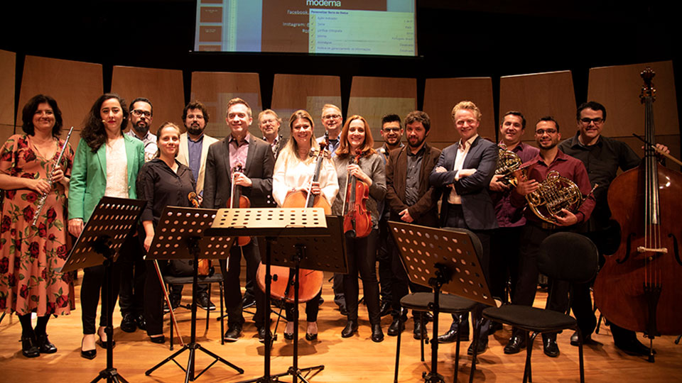Orquestra Moderna terá apresentação intimista no Auditório do MASP
