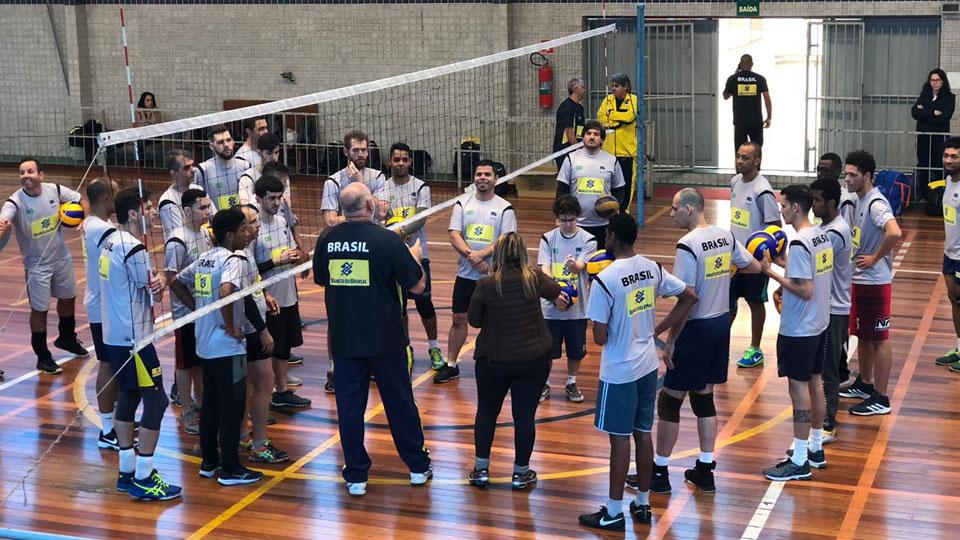 Seleção Brasileira Masculina de Voleibol de Surdos realizou sua segunda seletiva em São Paulo