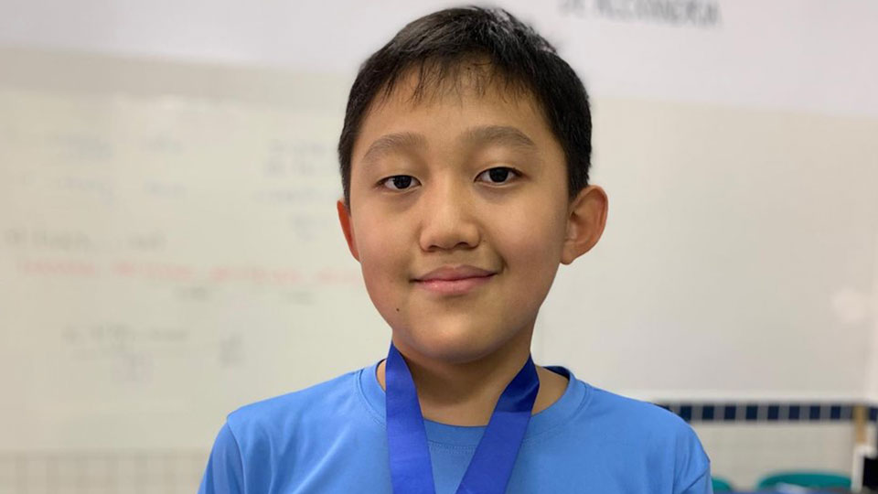 Aluno do Marista Arquidiocesano ganha medalha de ouro na Olimpíada Paulista de Matemática