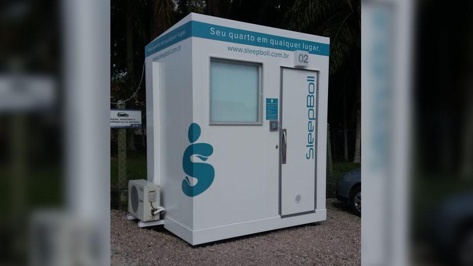 Cabines de descanso em rodovias brasileiras são instaladas na BR386