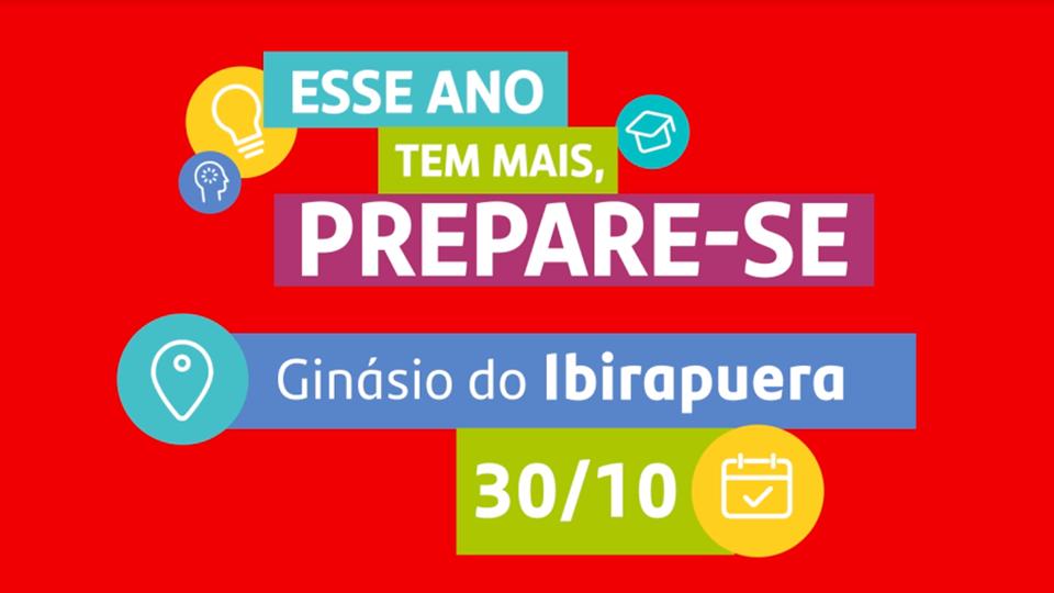 Enem 2019: Festival de Educação em SP reúne professores influencers no Ginásio do Ibirapuera