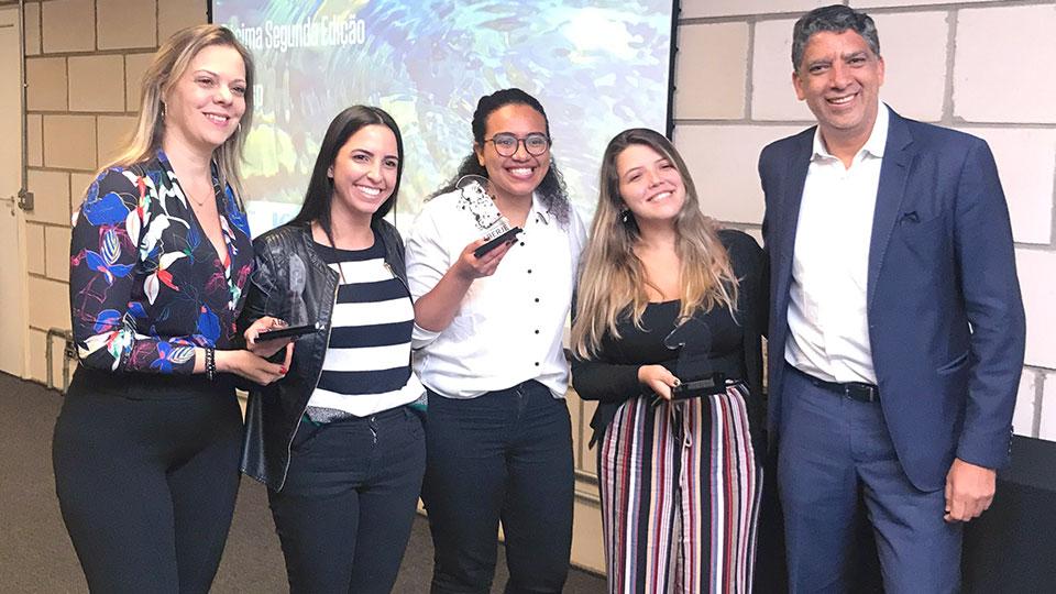 Estudantes vencem Prêmio Universitário Aberje com plano de comunicação sobre a despoluição do rio Pinheiros