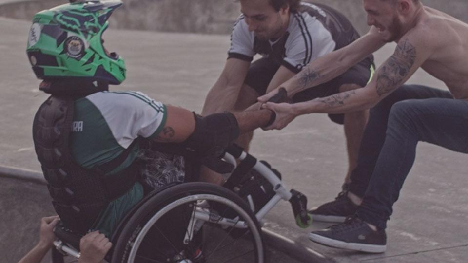 Festival 'Assim Vivemos' exibe três filmes sobre esportes praticados por deficientes