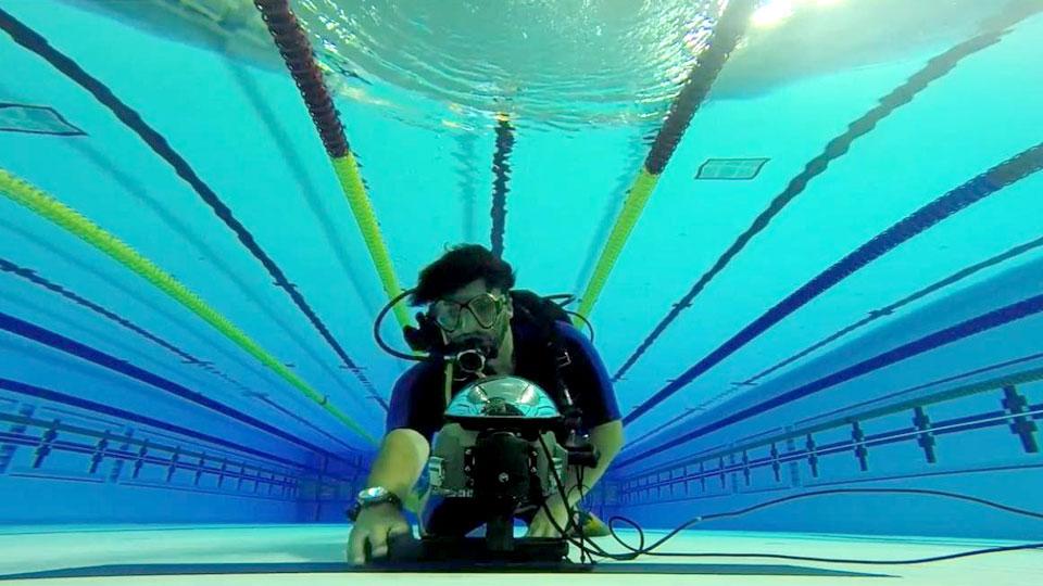 Fotos subaquáticas garantem espetáculo à parte nos JUBs 2019