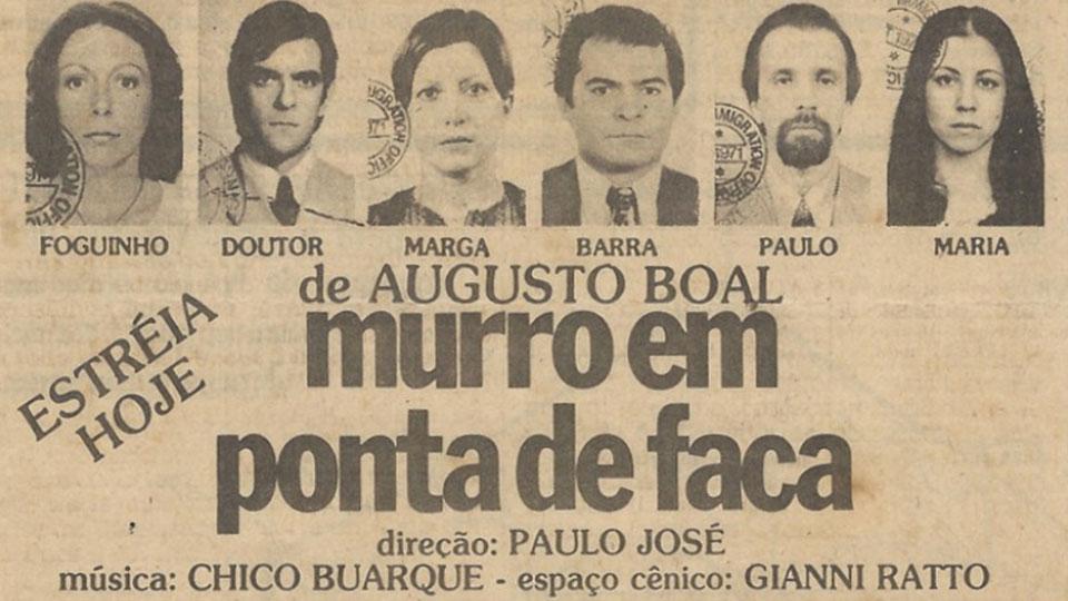 Liberdade em Cena apresenta Murro em Ponta de Faca – De Augusto Boal
