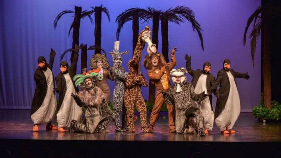 'Madagascar, uma aventura musical' – estreia no Theatro Net São Paulo