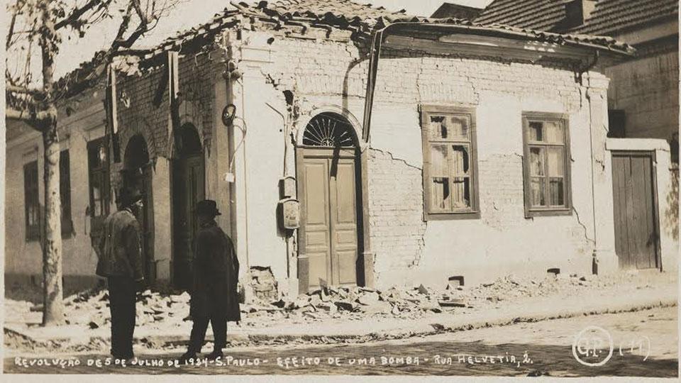 Mostra 'Sob Ataque' volta à revolução de 1924 para abordar as bombas reais e simbólicas que contam a história do bairro dos Campos Elíseos