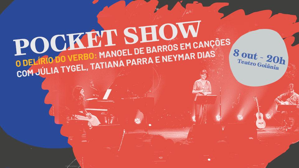 Sugestão de pauta: Pocket show inspirado em Manoel de Barros é atração de abertura da 19ª Goiânia Mostra Curtas
