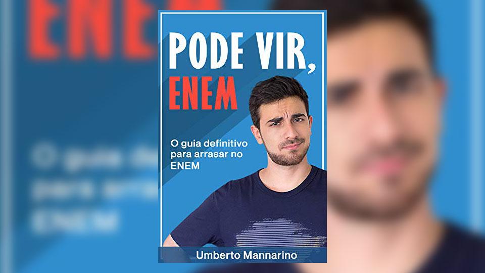 Youtuber brasiliense de educação lança e-book que prepara jovens para o Enem