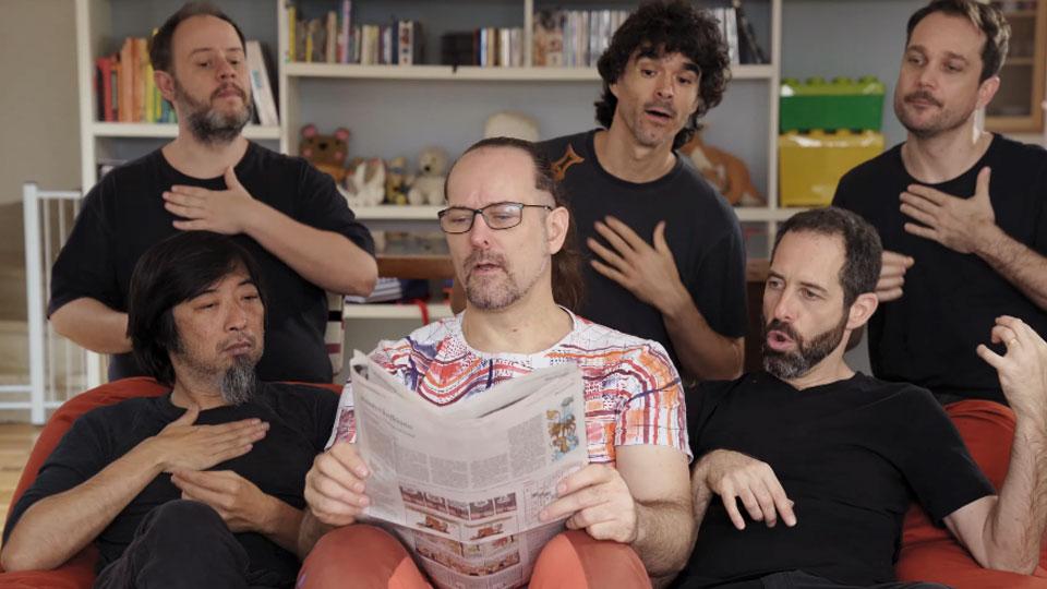 Barbatuques lança videoclipe de Só mais um Pouquinho