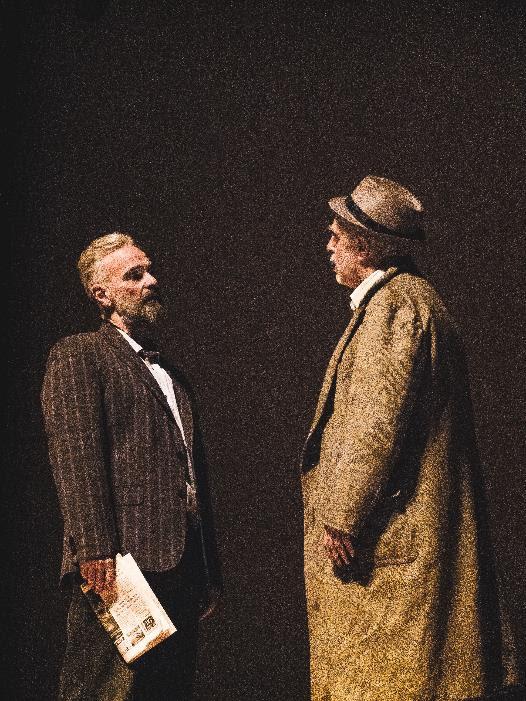 """Espetáculo """"O Vendedor de Sonhos"""", com Luiz Amorim e Mateus Carrieri, acontece nesta quinta, no Teatro Bradesco S Paulo"""