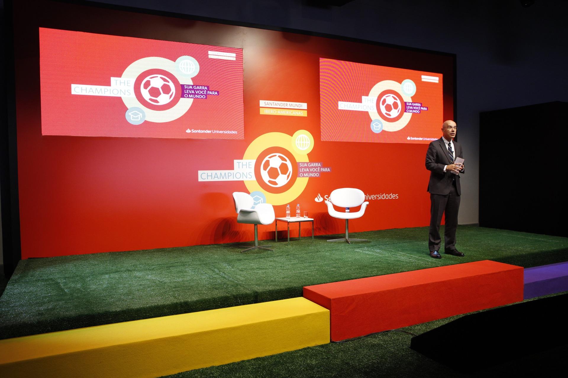 The Champions reúne contemplados dos programas de bolsas internacionais do Santander Universidades