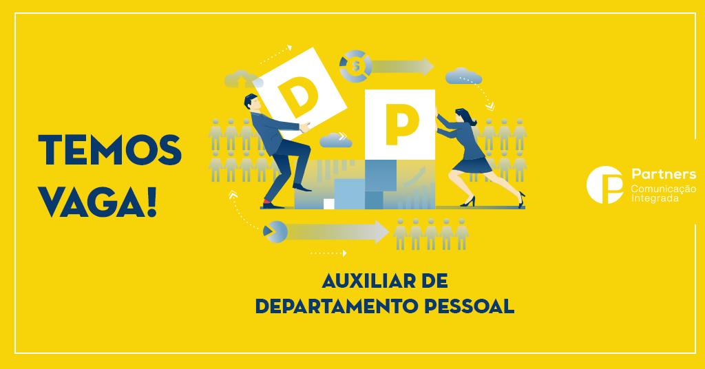 Vaga para Departamento Pessoal em Belo Horizonte