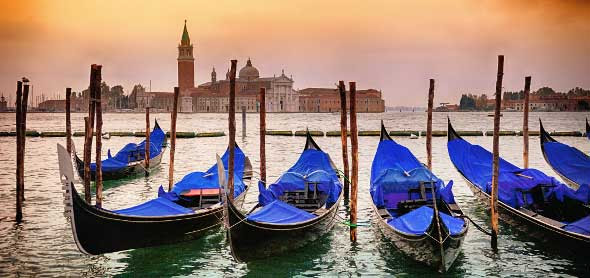 Veneza e seus encantos