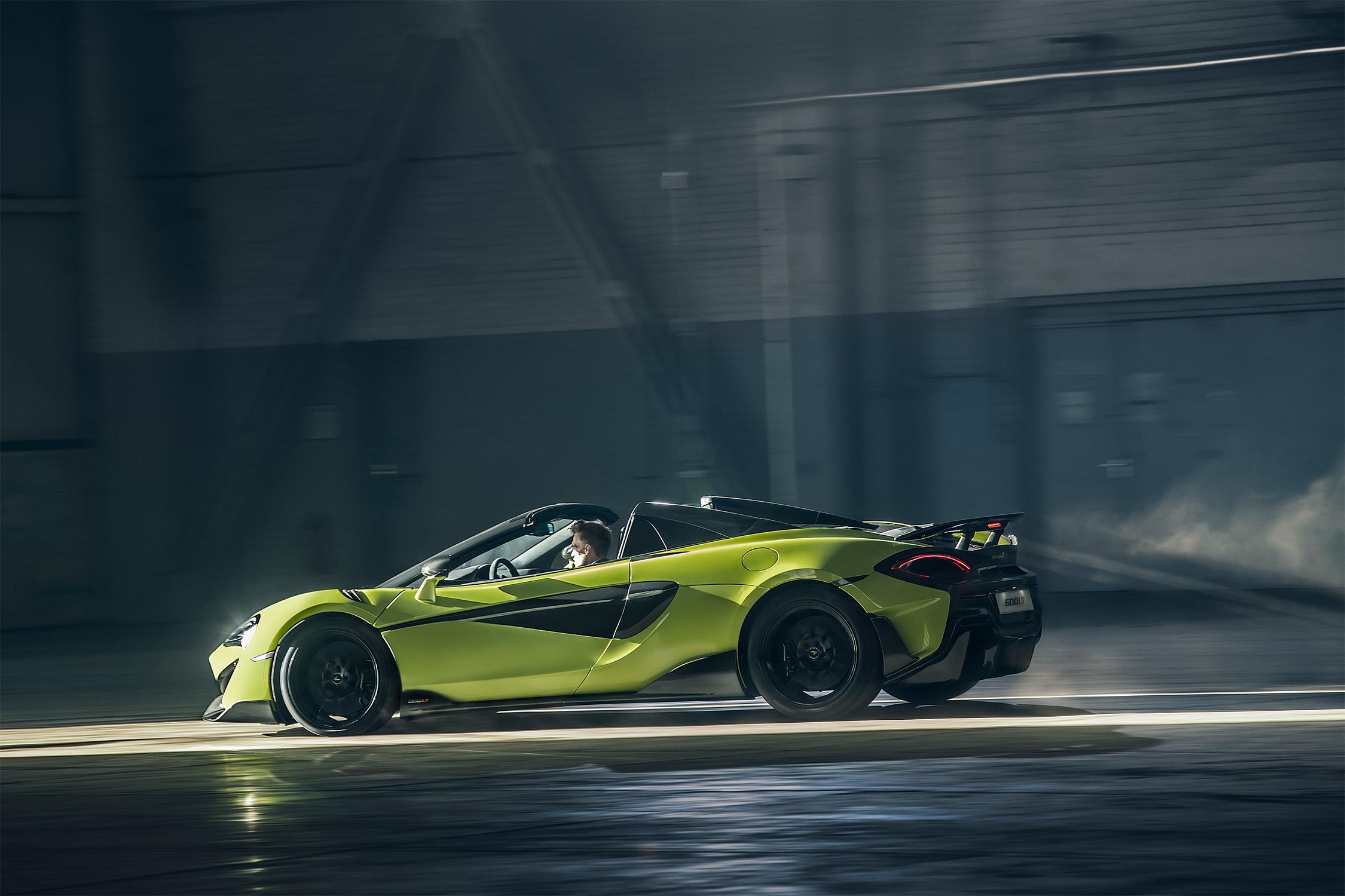 McLaren 600LT Spider: o céu é o limite para o novo Longtail conversível