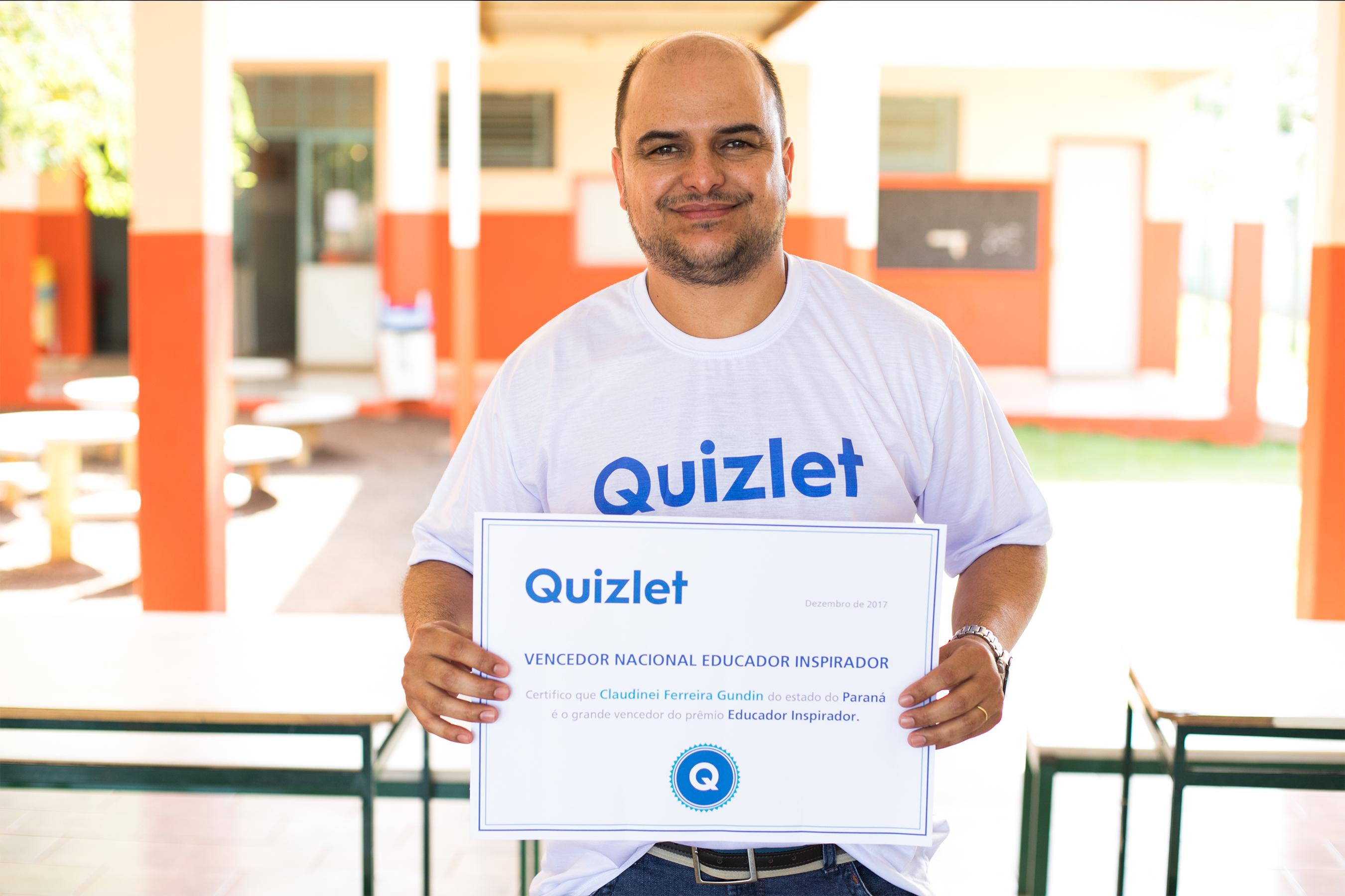Professor de zona rural do Paraná que venceu concurso por inovação em sala de aula embarca para o Vale do Silício
