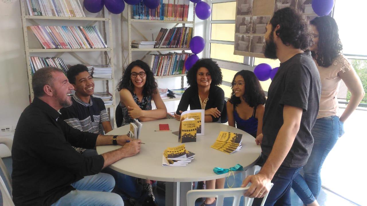 Projeto apoiado pela EcoQuality realiza novo lançamento de livros escritos por autores de Heliópolis