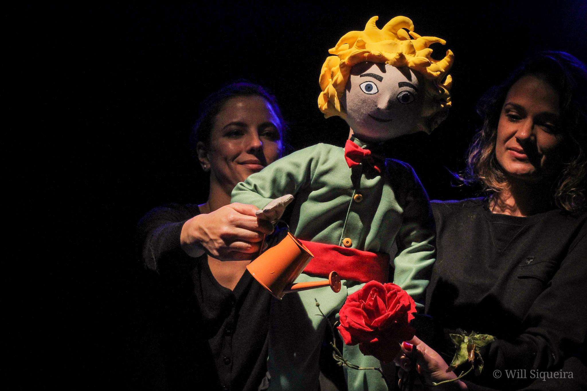 """Adaptação de """"O Pequeno Príncipe"""" estreia dia 9 de março no Teatro Folha"""