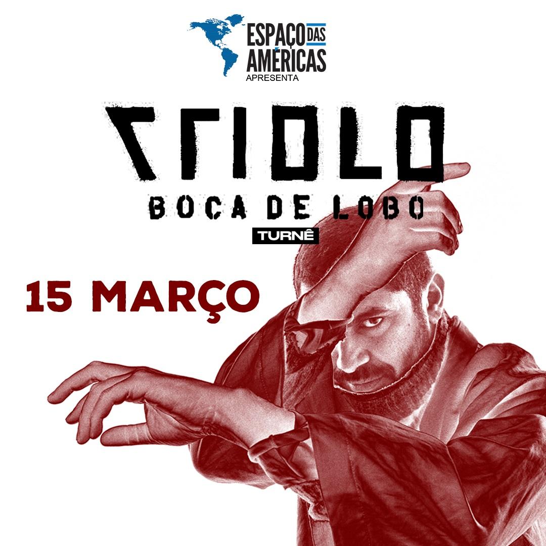 """Criolo chega do Espaço das Américas com turnê """"Boca de Lobo"""""""