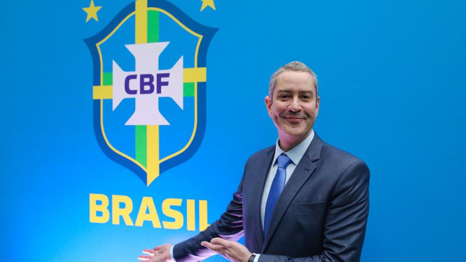 Rogério Caboclo toma posse na CBF e anuncia novidades