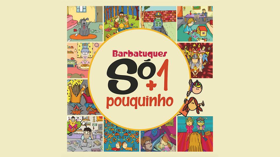 """Barbatuques """"Só + 1 Pouquinho"""" no Teatro Morumbi Shopping"""