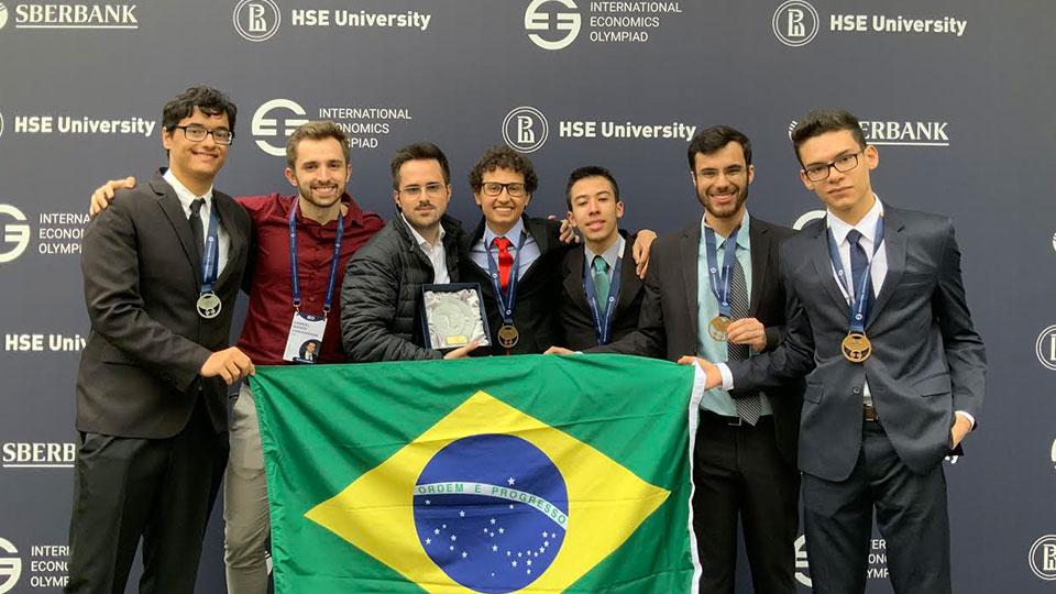 Brasil conquista ouro na olimpíada internacional de economia