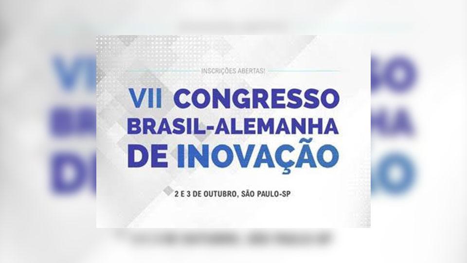 Congresso Brasil-Alemanha de Inovação reunirá palestrantes internacionais e premiará startups. Inscrições abertas!