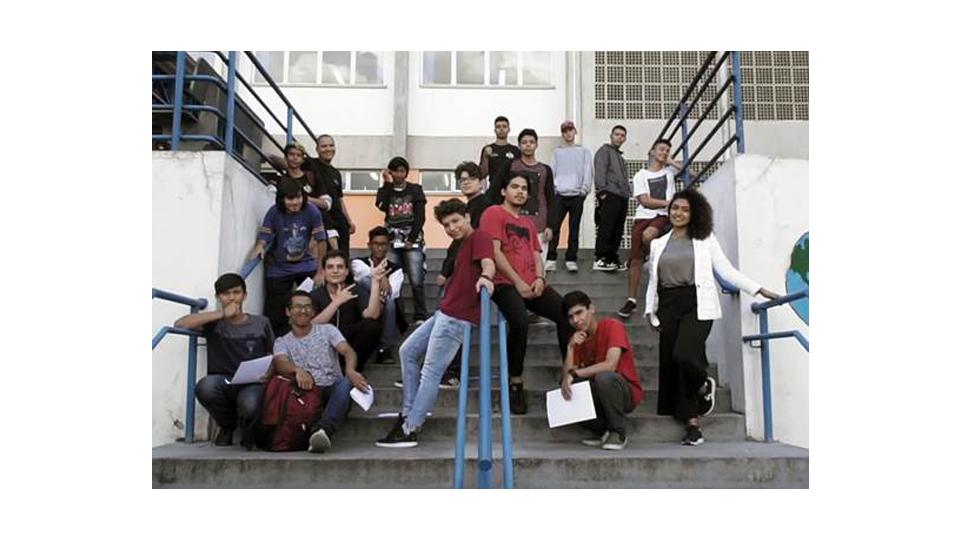 Estudantes da Etec de Pirituba participam de documentário