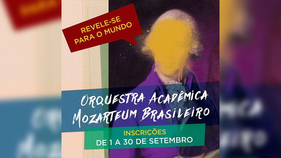 Orquestra Acadêmica Mozarteum Brasileiro recebe inscrições para selecionar novos integrantes da temporada 2020