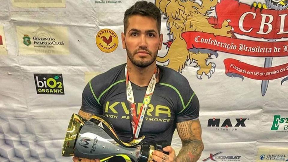 Matheus Adma mostra superação e conquista o vice campeonato mundial de Jiu Jitsu