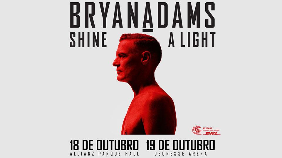 Bryan Adams inicia turnê pela América Latina